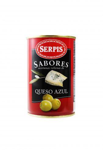 Olivy plněné modrým sýrem